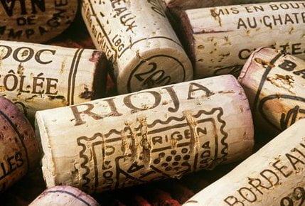 vinos de rioja corcho