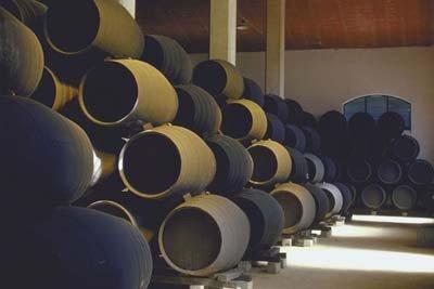 vinos jerez barriles