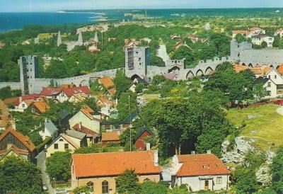 Visby en Suecia