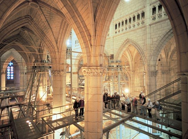 Visita a Catedral de Santa María de Vitoria