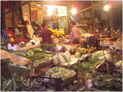 Visita al Mercado de Vicciria en Palermo