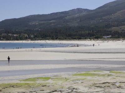 Las mejores playas de España: Aguieira, en Porto do Son
