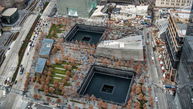Vista aérea de la Zona Cero, Nueva York