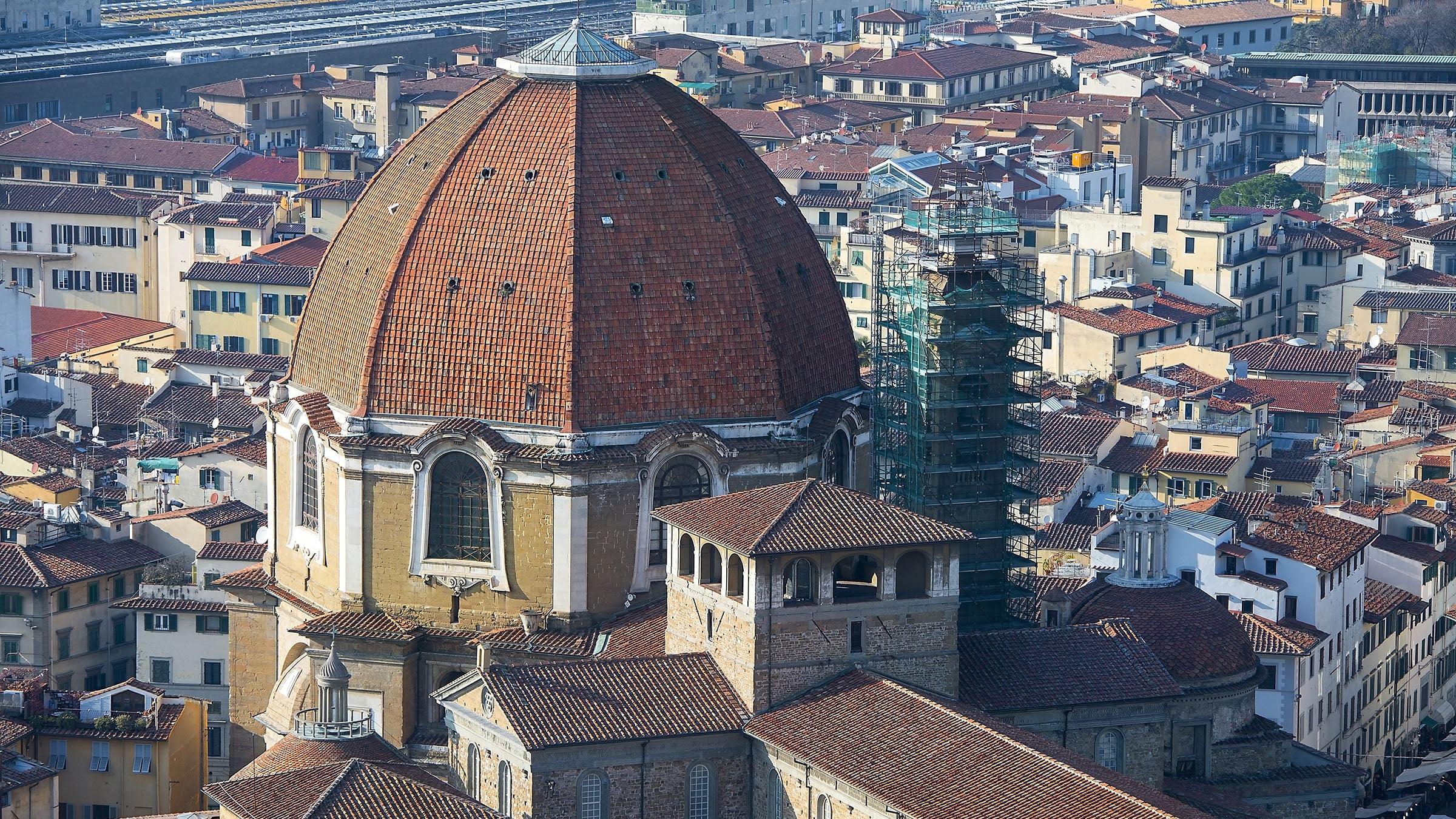 Vista aérea de San Lorenzo