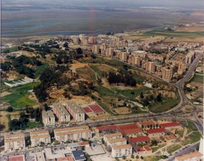 Vista aérea del Parque Moret