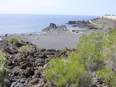 Vista de Playa de Charco Verde