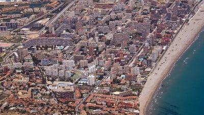 Vista de  Playa del Postiguet