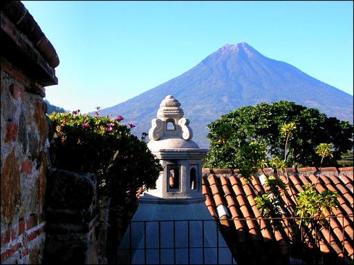 Volcan de Agua en Antigua Guatemala