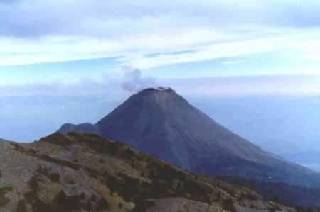 Volcan de santa margarida