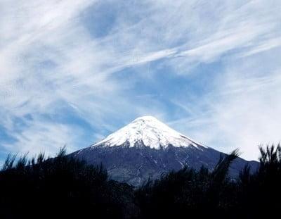 Volcán  Osorno en Chile