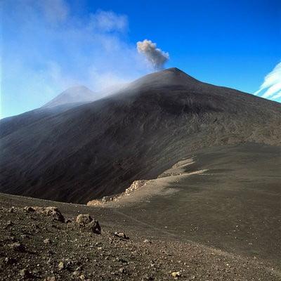 volcanes activos Etna