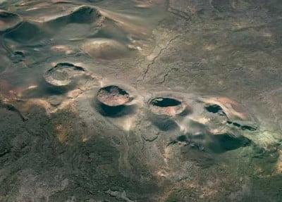 Volcanes del Parque Natural