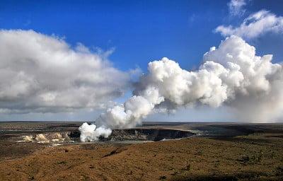 volcanes más importantes volcán Kilauea en Hawai