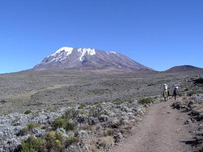 volcanes más importantes volcán Kilimanjaroen Tanzania