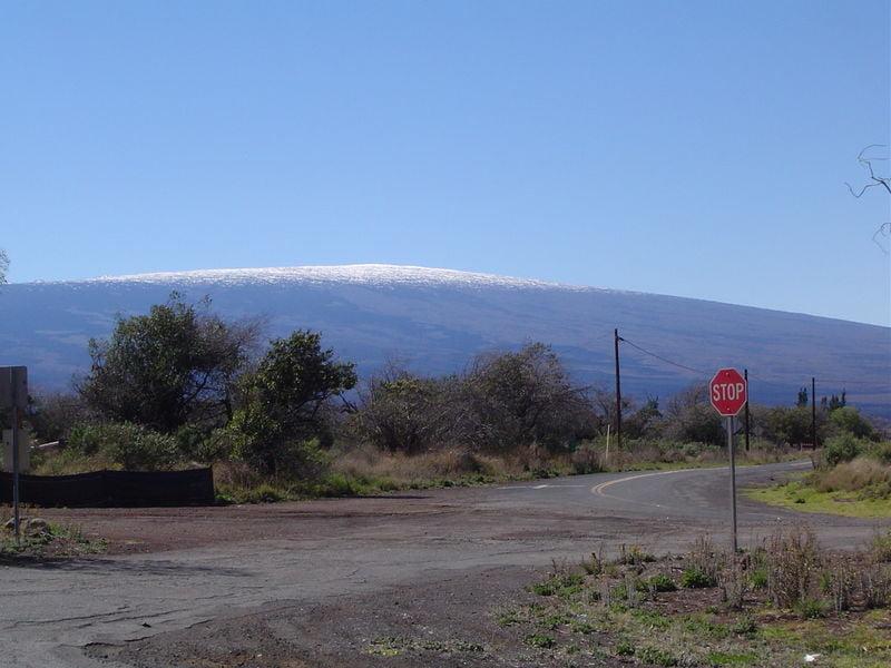 volcanes más importantes volcán Mauna Loa en Hawai