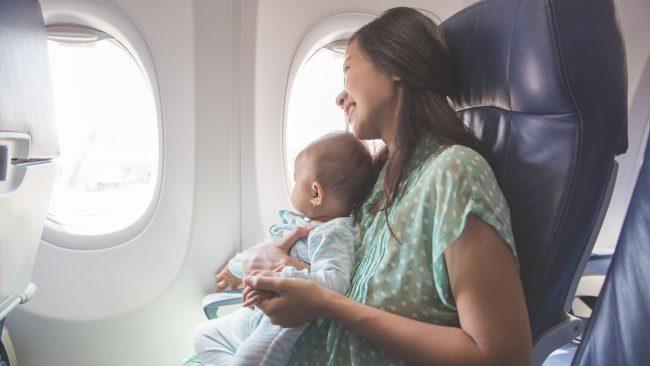 Vueling y viajar con bebés