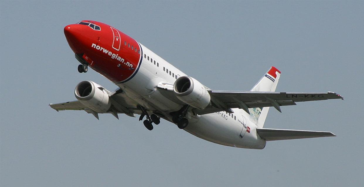 Vuelos a Noruega baratos