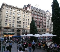 Wallpaper Plaza Sant Jaume