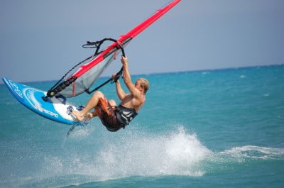 Windsurf en Chipre